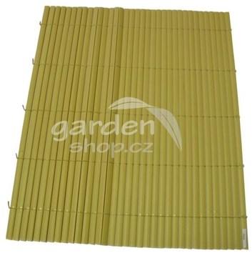 Bambusová rohož BAMBOO MAT  2 x 3 m - přírodní barva