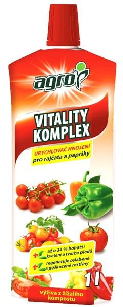 AGRO Vitality komplex RAJČE A PAPRIKA 1 l