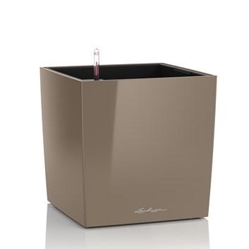 Lechuza Cube Premium 4O Taupe High Gloss
