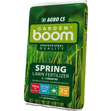 AGRO Garden Boom SPRING jarní trávníkové hnojivo 15 kg