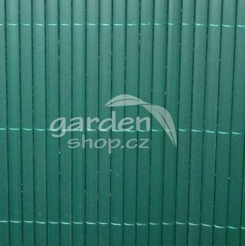 Bambusová rohož BAMBOO MAT  1,2 x 3 m - zelená barva
