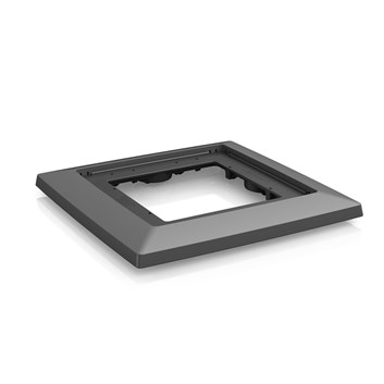 Lechuza Coaster Cubico 40 Charcoal Metallic
