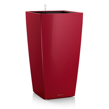 Lechuza Cubico Premium 22 Scarlet Red High Gloss