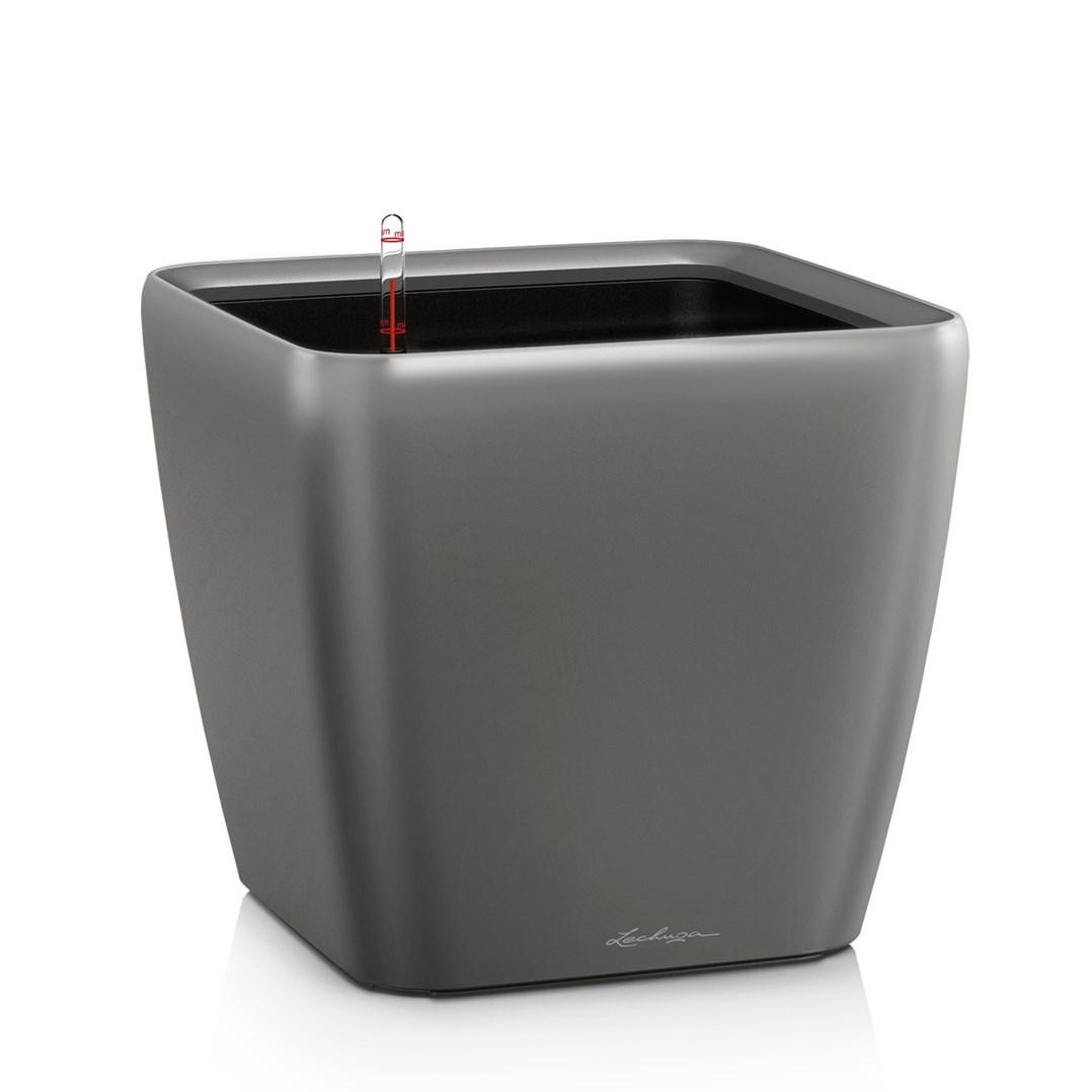 Lechuza Quadro Premium 21 LS Charcoal Metallic