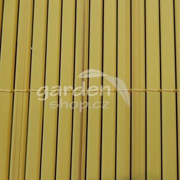 Bambusová rohož BAMBOO MAT MINI  1 x 3 m - přírodní barva
