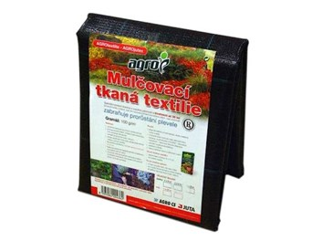 AGRO mulčovací textilie tkaná 100 g/m2   1,6 x 10m   16m2