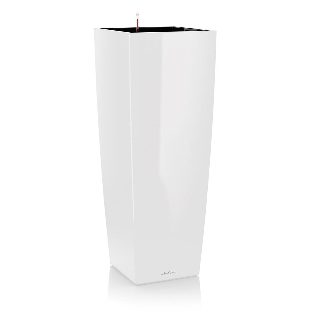 Lechuza Cubico Alto Premium 40 White High Gloss