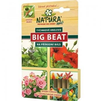 NATURA Big Beat tyčinkové hnojivo 12 ks