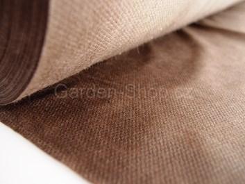 Netkaná mulčovací textilie hnědá 50g/m2 | 1,6x100m | 160m2
