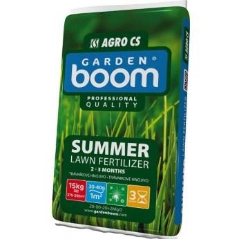 AGRO Garden Boom SUMMER letní trávníkové hnojivo 15 kg