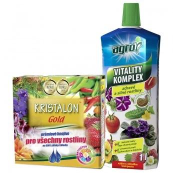 Kristalon Gold 0,5 kg + AGRO Vitality Komplex 1 L