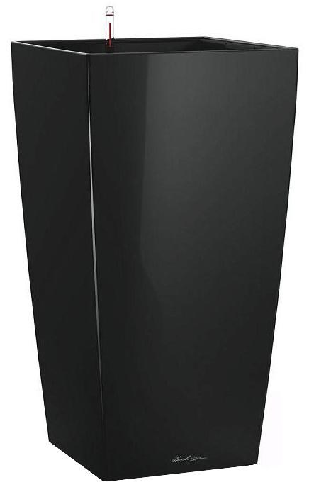 Lechuza Cubico Premium 50 Black High Gloss