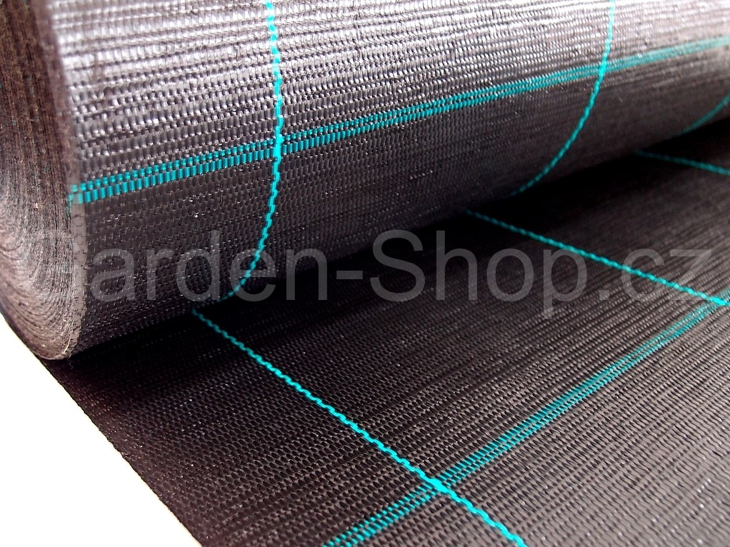 tkana mulcovaci textilie cerna