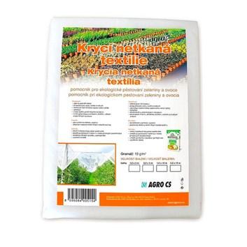 AGRO krycí netkaná bílá textilie 19g/m2 | 1,6x5m | 8m2