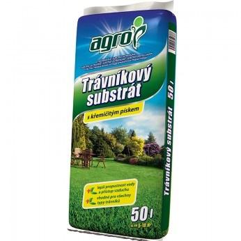 AGRO Trávníkový substrát 50 L