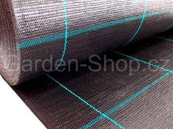 Tkaná mulčovací textilie černá  100 g/m2  1,65 m