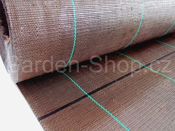 Tkaná mulčovací textilie hnědá 100g/m2   2,1x100m   210m2