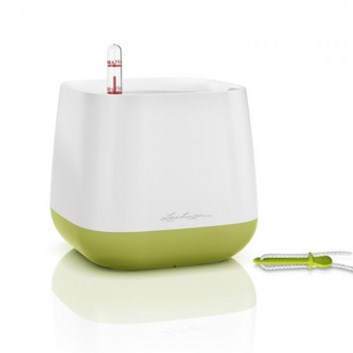 Lechuza YULA Pot White/Green