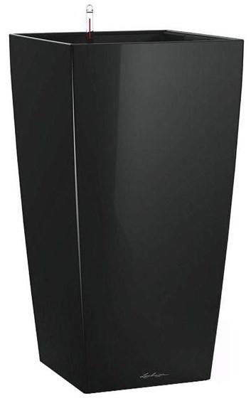 Lechuza Cubico Premium 30 Black High Gloss