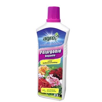 AGRO Kapalné hnojivo pro pelargonie a jiné balkónové květiny 0,5 L
