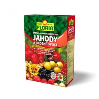 FLORIA Organominerální hnojivo pro jahody a ovoce 2,5 kg