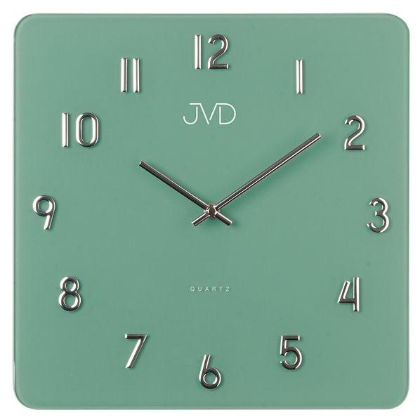 Nástěnné hodiny JVD H85.4 - Zelená
