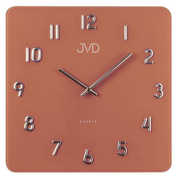 Nástěnné hodiny JVD H85.5 - Hnědá