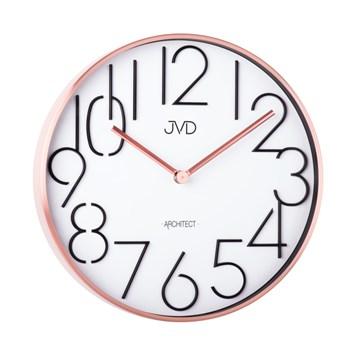Designové kovové hodiny JVD -Architect- HC06.3