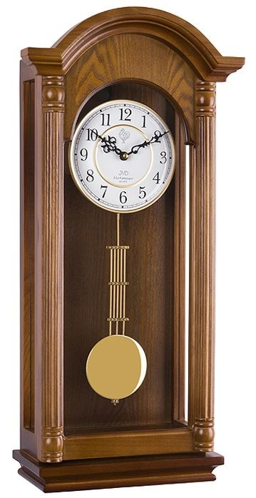 Kyvadlové hodiny JVD N20123/11 - Tmavě hnědá