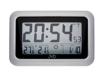 Rádiem řízené digitální hodiny s budíkem JVD RB36.2