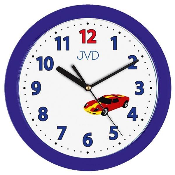 Dětské nástěnné hodiny JVD H12.5