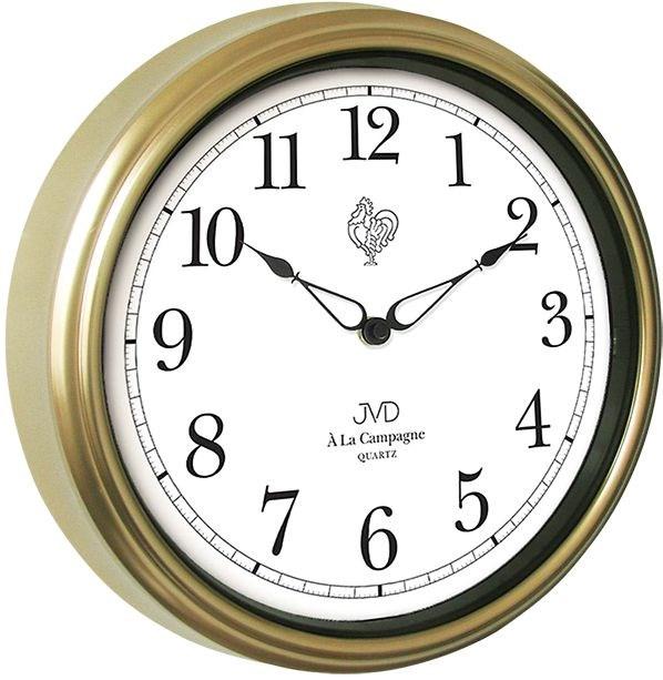 Nástěnné hodiny JVD quartz TS2887.2 - Zlatá