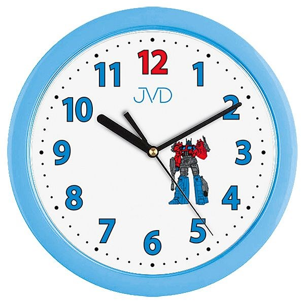 Dětské nástěnné hodiny JVD H12.6