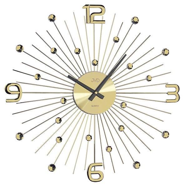 Nástěnné hodiny JVD HT074.1 - Zlatá