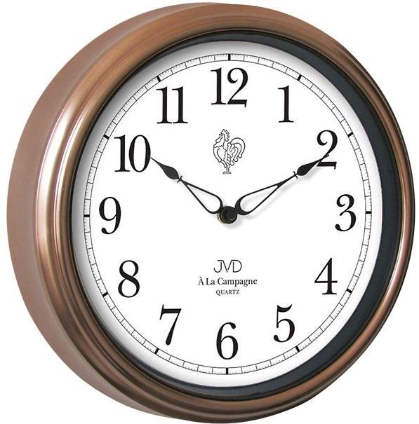 Nástěnné hodiny JVD quartz TS2887.3 - Hnědá