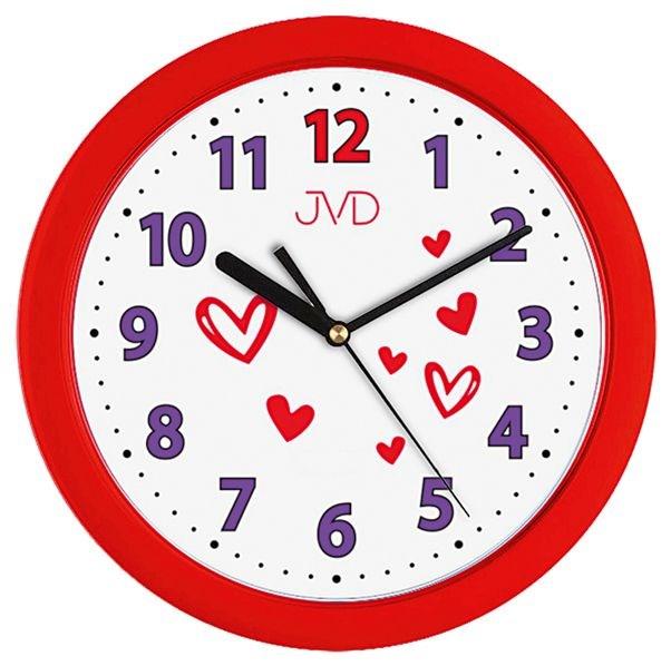 Dětské nástěnné hodiny JVD H12.2