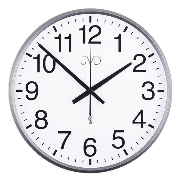 Rádiem řízené nástěnné hodiny JVD RH684.2