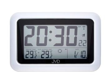 Rádiem řízené digitální hodiny s budíkem JVD RB36.1