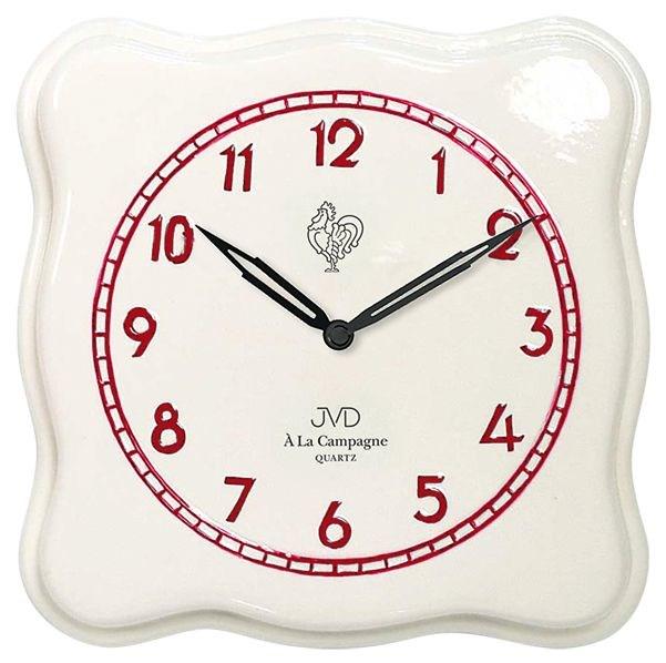 Nástěnné hodiny JVD quartz TS2615.3 - Červená