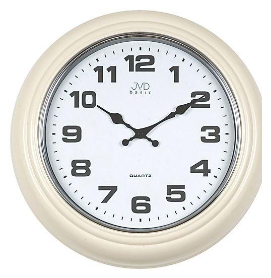 Analogové bateriové kovové nástěnné hodiny HF 74.1