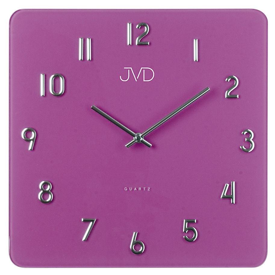 Nástěnné hodiny JVD H85.6 - Fialová