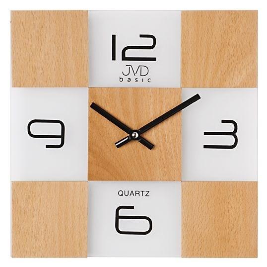 Nástěnné hodiny JVD basic N29081.2 - Bílá