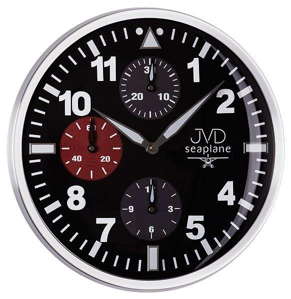 Nástěnné hodiny JVD seaplane HA15.1