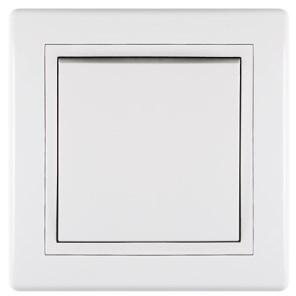 Střídavý vypínač č.6 10A 250V~ bílý