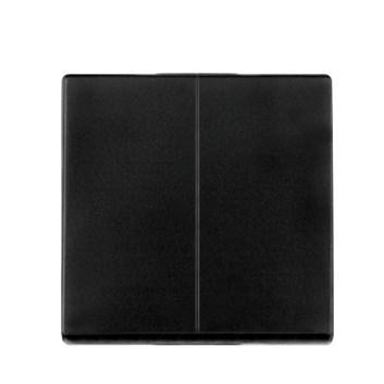 Kryt (černá) + strojek pro vypínač č.5, 5B  Visage Deluxe