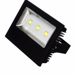 LED reflektor HL 168L 150W 220-240V 6500K černá