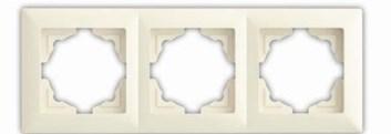 Rámek trojnásobný – VISAGE Ivory