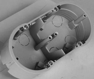Instalační krabice do dutých stěn KUP 68 LA/2 pro duté stěny