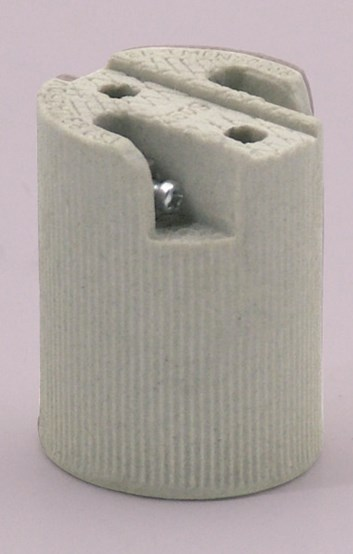 Objímka porcelánová HL 590 E14