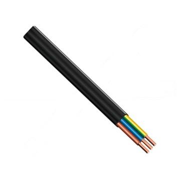 Kabel pevný Cu CYYpl-J 3x2,5 plochý